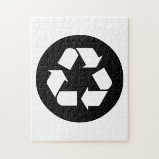 Recycling Sign Jigsaw Puzzle