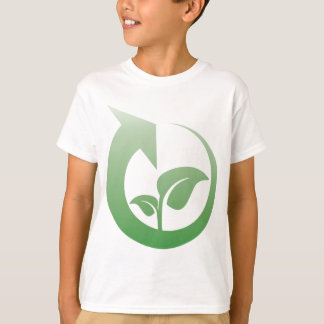 Recycling sign t shirts