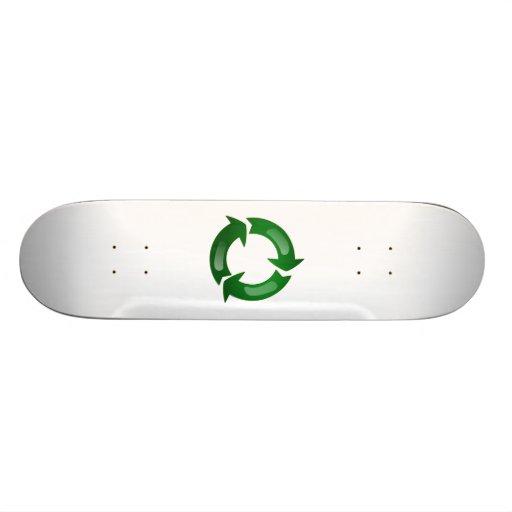 Recycling Custom Skate Board