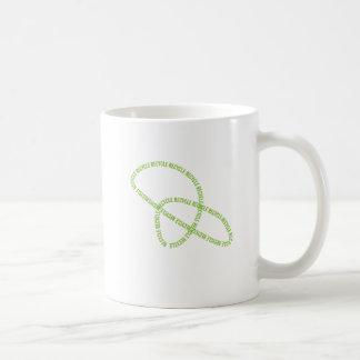 Recycling Swirl Coffee Mugs