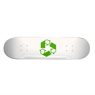 Recycling Symbol Skate Deck
