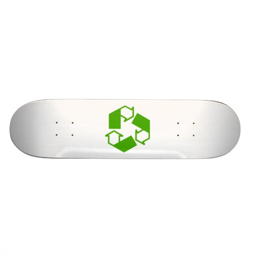 Recycling Symbol Skate Deck