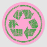 Recycling to Save the Planet Earth, Symbol Sticker