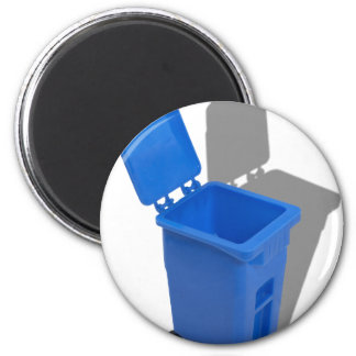 RecyclingBin082010 6 Cm Round Magnet