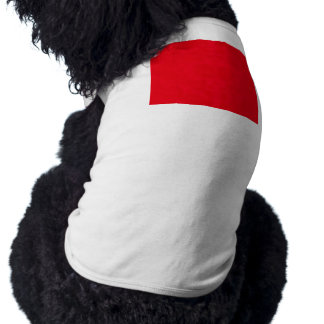 red043 sleeveless dog shirt