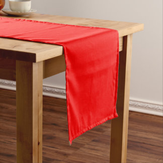 """Red 14"""" X 72"""" Table Runner Template"""