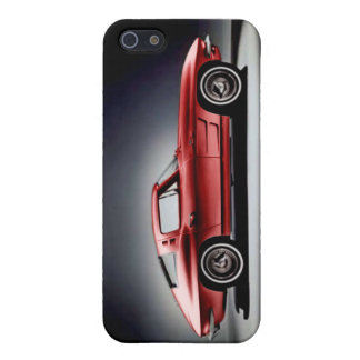 Red 1963 Corvette Sting Ray iPhone 5/5S Cover