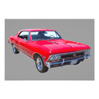 Red 1966 Chevy Chevelle SS 396 Photo