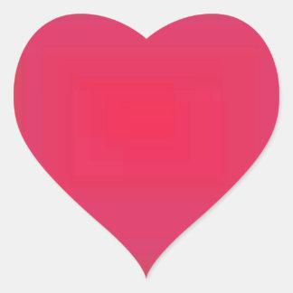 Red 2 heart sticker