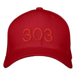 RED 303 HAT BASEBALL CAP