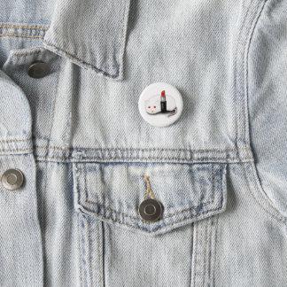 Red 3 Cm Round Badge