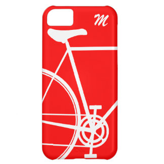 Red Abstract Bicycle iPhone 5C Case