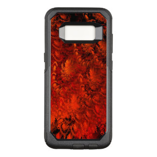 Red Abstract Fractal Art OtterBox Commuter Samsung Galaxy S8 Case