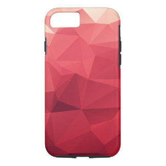 Red Abstract Geometric iPhone 8/7 Case