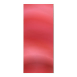 Red abstract 10 cm x 24 cm invitation card