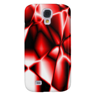 Red Abstract iPhone Case 3G Samsung Galaxy S4 Cover