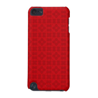 Red abstract wood Pattern iPod Touch 5G Case