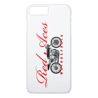 Red Aces Motorsports, Vintage Motorcycle iphone iPhone 7 Plus Case