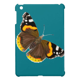 Red Admiral Butterfly Watercolor Painting Artwork iPad Mini Cover