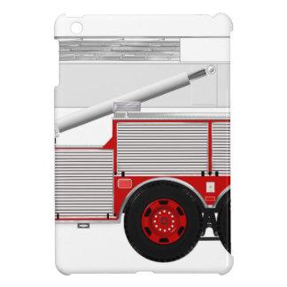 Red Aerial Scope Custom Fire Truck Design iPad Mini Case