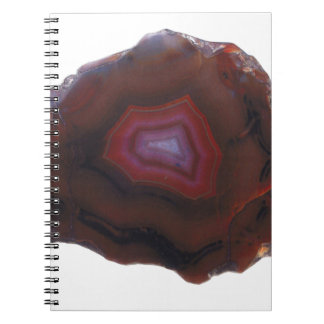 Red Agate Notebook