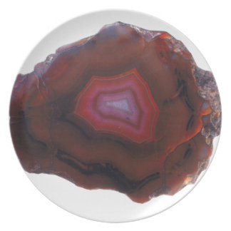 Red Agate Plate