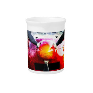 Red Aircraft - Small But Fierce Beverage Pitchers