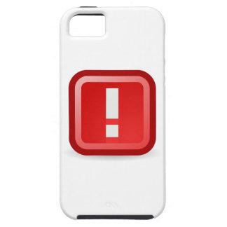 Red Alert iPhone 5 Covers