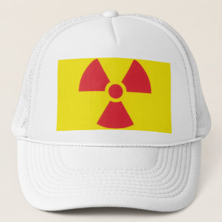 RED ALERT RADIATION WARNING! TRUCKER HAT