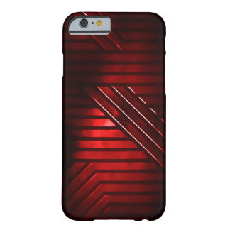 Red Alien Metal Barely There iPhone 6 Case