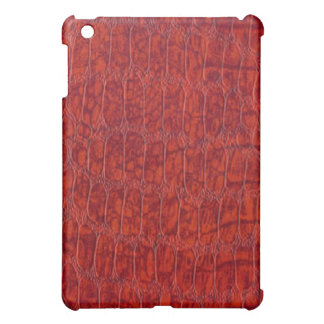 Red Alligator Leather Pattern Speck iPad Case