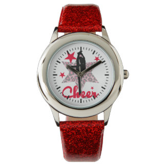 Red Allstar Cheerleader Watches