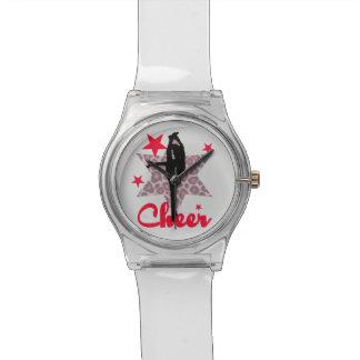 Red Allstar Cheerleader Watches