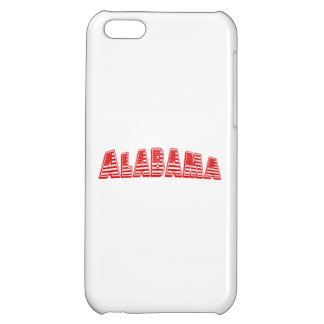 Red American Flag Alabama iPhone 5C Cover