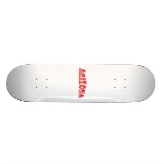 Red American Flag Arizona Custom Skate Board