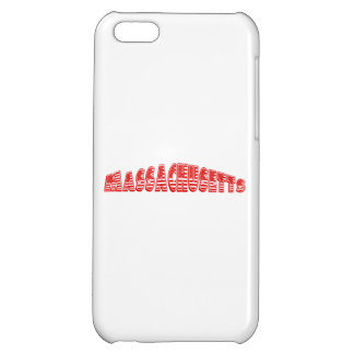 Red American Flag Massachusetts iPhone 5C Cover
