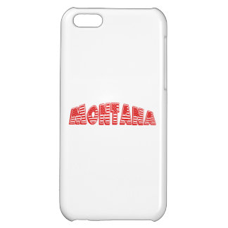 Red American Flag Montana iPhone 5C Cases