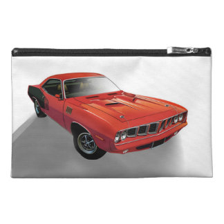 Red American muscle car Travel Accessories Bag