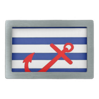 Red Anchor Belt Buckle