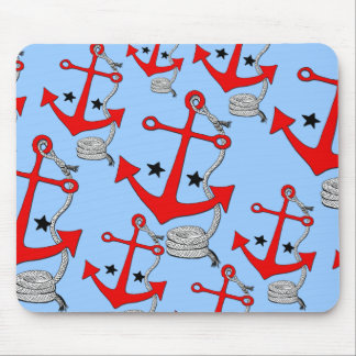 Red Anchors for Mouse Pads
