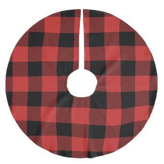 Red and Black Buffalo Check - Plaid Tree Skirt