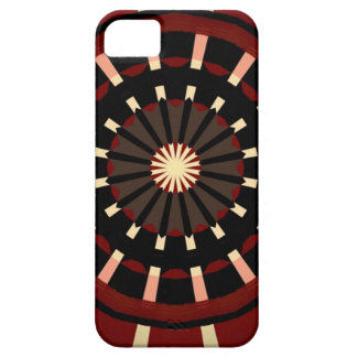 Red and Black Dart Board Inspired Design Case For The iPhone 5