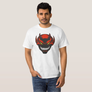 Red and Black Devil Demon Horror Scary Graphic T-Shirt