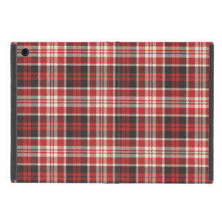 Red and Black Plaid Pattern Case For iPad Mini