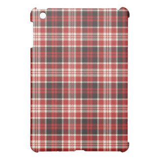 Red and Black Plaid Pattern Case For The iPad Mini