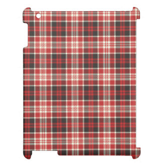 Red and Black Plaid Pattern Cover For The iPad 2 3 4