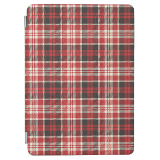 Red and Black Plaid Pattern iPad Air Cover