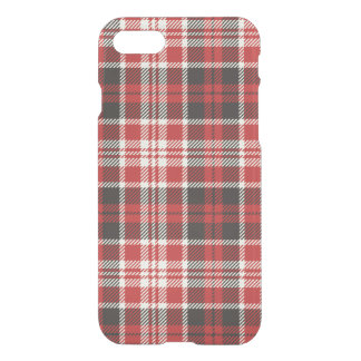 Red and Black Plaid Pattern iPhone 8/7 Case
