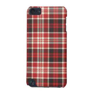 Red and Black Plaid Pattern iPod Touch 5G Case