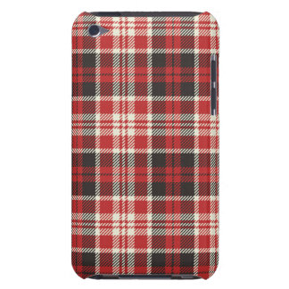 Red and Black Plaid Pattern iPod Touch Case-Mate Case